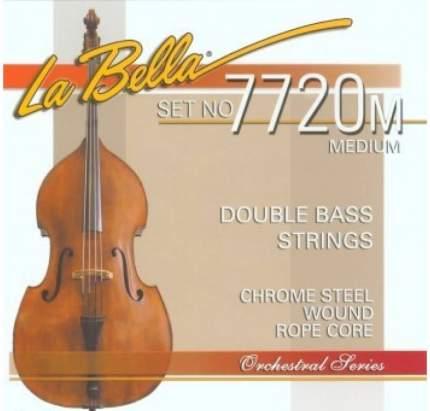 Струны для контрабаса La Bella 7720 M