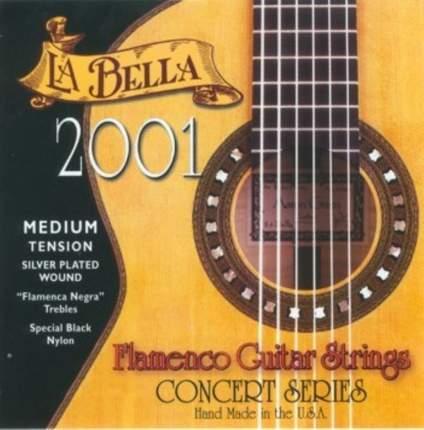 La Bella 2001 FLAMENCO Medium Струны для классической гитары