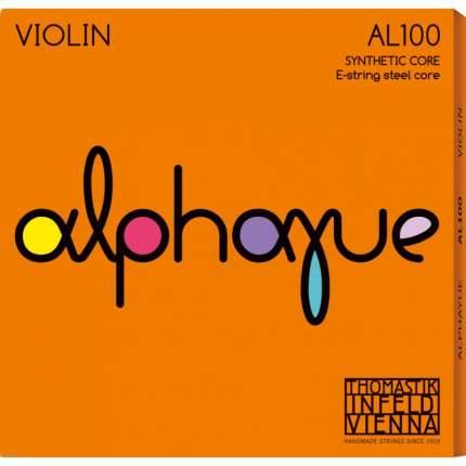 Струны для скрипки Thomastik AL100 1/2