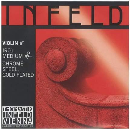 Струна для скрипки Thomastik IR01 Hybridkern E Chrst/Gold, E