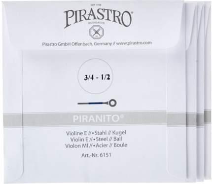 Струны для скрипки Pirastro Pirani 615040