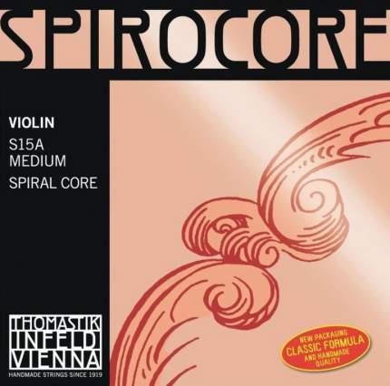 Струны для скрипки Thomastik S15A Spirocore