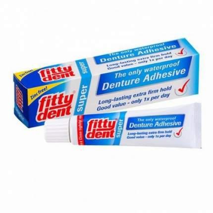 Фиксирующий крем для супер фиксации съемных зубных протезов Fittyden 40 г