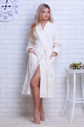 Женский облегченный махровый халат Light (E 701), цвет нежно-кремовый, размер 42-44