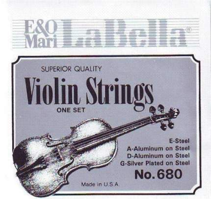 Струны для скрипки La Bella 680 4/4