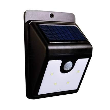 Фонарь настенный EverBrite на солнечных батареях с датчиком движения 4 диода