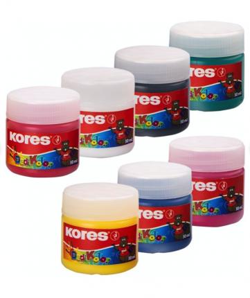 Пальчиковые краски Kores 685063