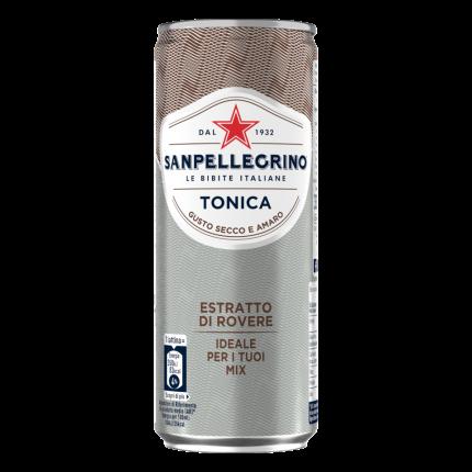 Напиток безалкогольный газированный Sanpellegrino Tonica, 24 шт по 0,33л ал/б