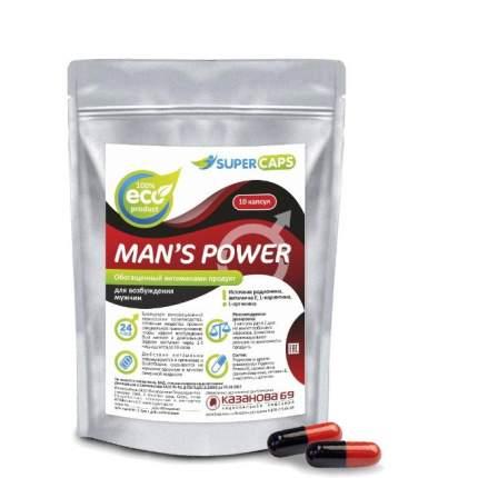Капсулы Man''s Power+Lcamitin возбуждающее средство 10 шт.