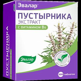 Пустырника экстракт Эвалар таблетки 300 шт.