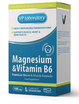 Магний + витамин B6 таблетки 60 шт. VPLab