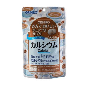 Кальций с витамином D со вкусом кофе таблетки 150 шт. ОРИХИРО