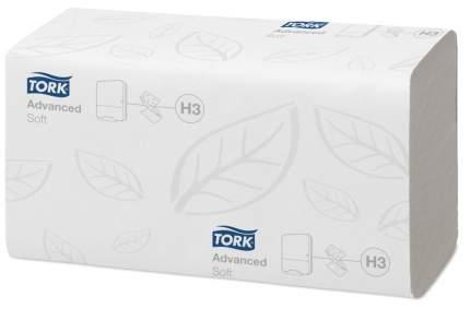 Полотенца Промо Н3 Tork Advanced сложение ZZ двухслойные белые 23*23 см 20 шт