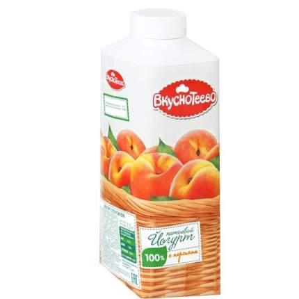 Йогурт Вкуснотеево питьевой молочный с персиком 1.5% 750 г