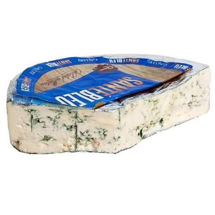 Сыр Чиз галери санте блю фасованный с голубой плесенью 50%
