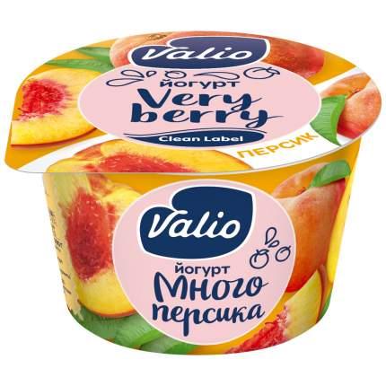 Йогурт Valio персик 2.6% 180 г