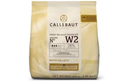 Шоколад белый Callebaut 0.4 кг
