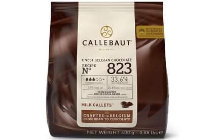Шоколад молочный Callebaut 33.6% какао 0.4 кг