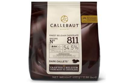 Шоколад Callebaut темный 0.4 кг