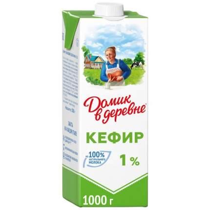 Кефир домик в деревне бзмж жир. 1 % 1000 г к/к вбд россия