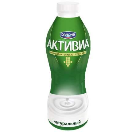 Биойогурт Активиа питьевой  натуральный 2.4% 870 г