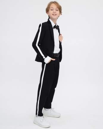 Пиджак для мальчиков Gulliver, цв. черный, р.164