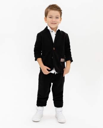 Пиджак для мальчиков Gulliver, цв. черный, р.104