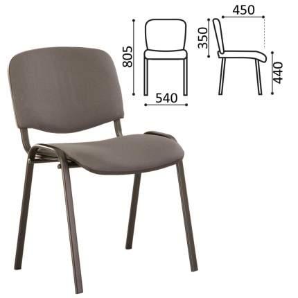 Офисный стул NoBrand ISO 235743, черный/серый