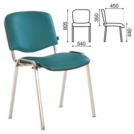 Офисный стул Brabix Iso 218387, серебристый/голубой