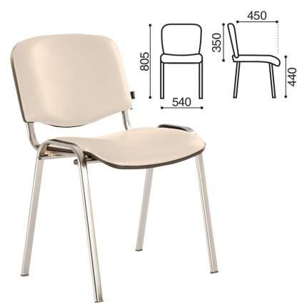 Офисный стул Brabix Iso 218385, серебристый/бежевый