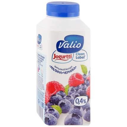 Йогурт питьевой Valio малина черника 0.4% 330 мл