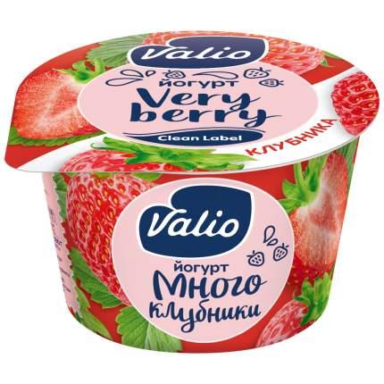 Йогурт Valio клубника 2.6% 180 г