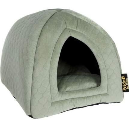Домик для кошек и собак PRIDE ВАТСОН, зеленый, 40x40x40см