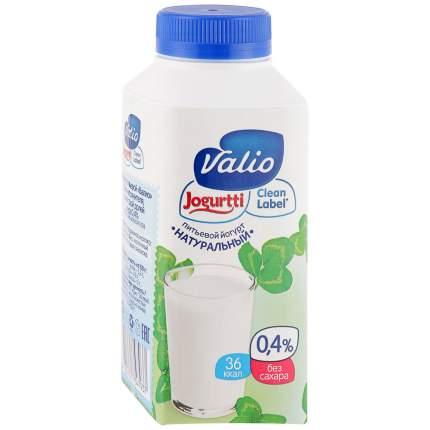 Йогурт Valio питьевой натуральный 0.4% 330 г