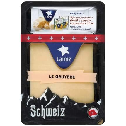 Сыр Лайме грюйер твердый 49% 180 г