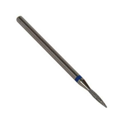 Фреза IRISK алмазная пламевидная D=1,6 мм, синяя, средняя зернистость