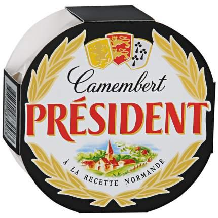 Сыр Президент камамбер мягкий с белой плесенью 45% 125 г