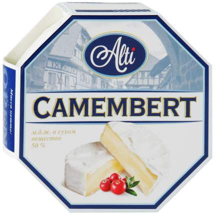 Сыр Алти камамбер 50% 125 г