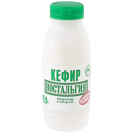 Кефир ностальгия бзмж жир. 3-4 % 300 г пл/б ростагрокомплекс россия