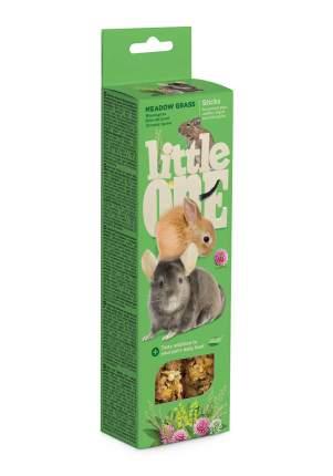 Палочки Little One для морских свинок, кроликов, дегу и шиншилл. Луговые травы, 110г