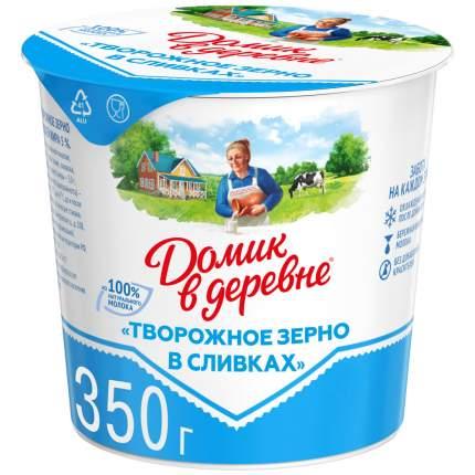 Продукт Домик в деревне творожный в сливках 5% 350 г