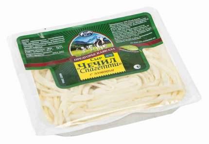 Сыр чечил предгорье кавказа спагетти  с чесноком 45 % 110 г