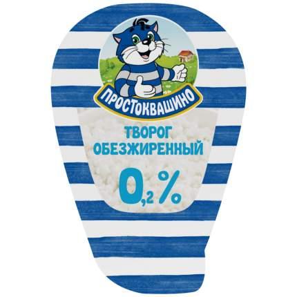 Творог простоквашино обезжиренный бзмж жир. 0,2 % 210 г капля данон россия