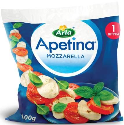 Сыр арла апетина моцарелла бзмж жир. 45 % 100 г п/п сыроварня волжанка россия