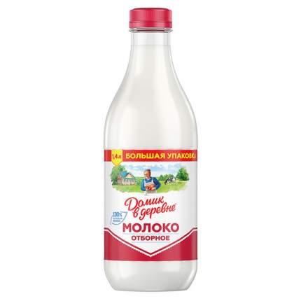 Молоко Домик в деревне отборное пастеризованное 3.5-4.5% 1.4 л