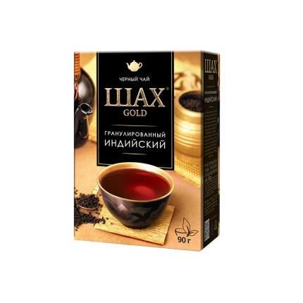Чай черный листовой гранулированный Шах Gold Индийский 90 г