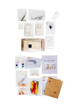 """Набор для создания интерьера в миниатюре (румбокс) Цветной DGF03 """"Время для вечеринки"""""""