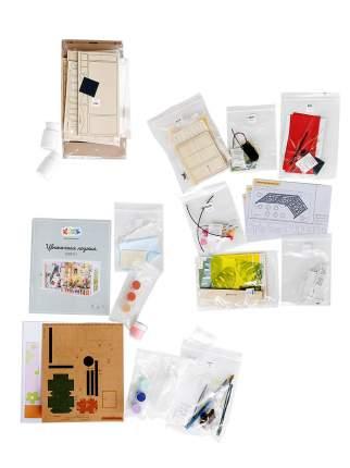 """Набор для создания интерьера в миниатюре (румбокс) Цветной DGF01 """"Цветочная лоджия"""""""