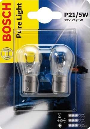 Лампа p21/5w 12v 21/5w pure light (db) BOSCH 1987301016
