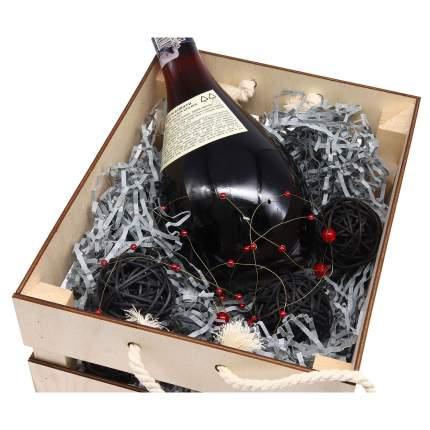 """Набор для оформления подарка """"Черный мужской"""", ящик 25*30 см, белый 560272"""